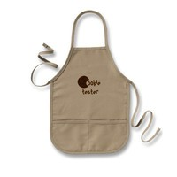 Cookie Tester kid's apron from Zazzle.com