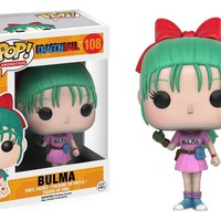 "Funko Pop Dragonball Z Bulma Anime 3.75"" Vinyl Figure IN STOCK"