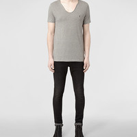 AllSaints Tonic Scoop T-Shirt | Mens T-Shirts