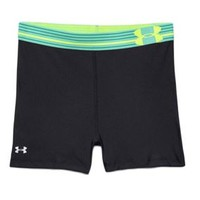 Under Armour HeatGear Alpha Compression Shorts in Crystal for Women 1251862-003