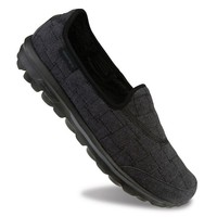 Skechers GOwalk 3 Retreat Women's Slip-On Walking Shoes (Black)