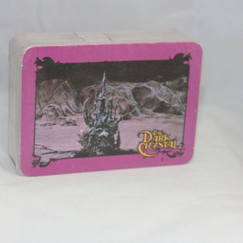 The Dark Crystal -- Complete Set of 78 Trading Cards -- Donruss 1982 --