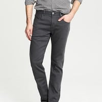 Banana Republic Mens Grey Traveler Jean