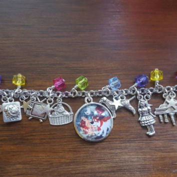 Disney Oliver and company inspired charm bracelet
