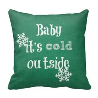 Baby it's Cold Outside: Green Faux Sweater