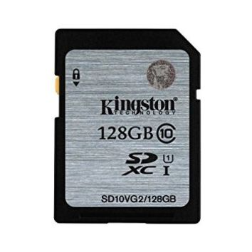 Kingston SD10VG2/128GB - Tarjeta SD UHS-I SDHC/SDXC (Clase 10 - 128GB): Kingston: Amazon.es: Informática