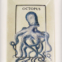 Apothecary Octopus Porcelain Tray | PLASTICLAND