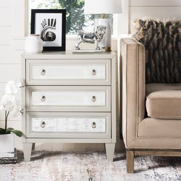 Safavieh Marlon 3-Drawer Titanium Storage Chest | Overstock.com Shopping - The Best Deals on Dressers