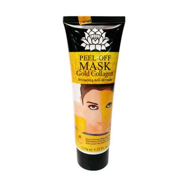 120ml Deep clean pore dirt nourish and whiten skin reduce acne blackheads Rapidly removes spot 24K Gold peel-off Mask
