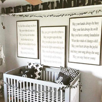 Forever Young Nursery Signs, Set of 3