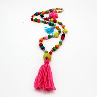 Tassel necklace, tribal necklace,boho necklace Womens jewelry, accessories,bijoux tendances necklace,sautoir fantaisie, sautoir tendances
