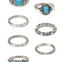 Everyday Faux Stone Rings
