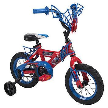 12 Inch Toddlers, Kids Bike, Bicycle with Training Wheels, Tricycle