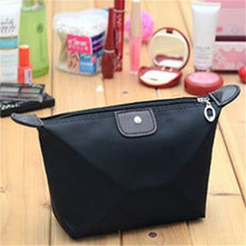 2016 Travel Zipper Waterproof Cosmetic Bag Makeup Pouch Toiletry Hot Wash Organizer Case Gift High Quality Free Shipping S309