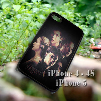 Harry Potter, Percy Jackson, Hunger , Mortal for iPhone case, iPhone 4/4s/5/5c/5s case, Samsung Galaxy S3/S4 case cover