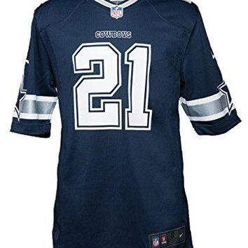 Nike Men's NFL Ezekiel Elliott Dallas Cowboys Jersey - Navy