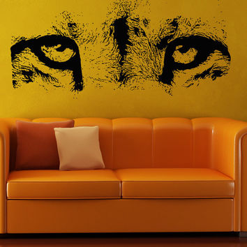 Vinyl Wall Decal Sticker Cheetah Eyes #5512