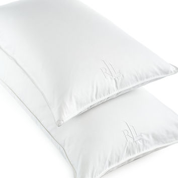 Lauren Ralph Lauren White Goose Down Pillows, 500 Thread Count Cotton