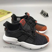 adidas originals prophere Fashion Women/Men Casual Running Sport Shoes Black Red G-CSXY