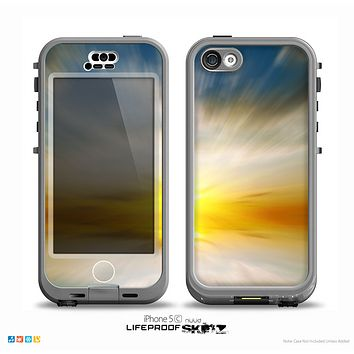 The Bright Blurred Sunset Skin for the iPhone 5c nüüd LifeProof Case