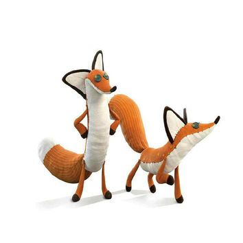 1pcs Cartoon The Little Prince Plush Dolls ,The Little Prince  Fox Stuffed animals plush  toys for baby kids