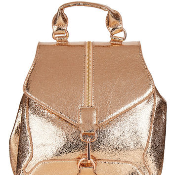 Rose gold Agate Backpack
