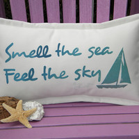 Smell the Sea / Feel the sky sailboat indoor by crabbychris