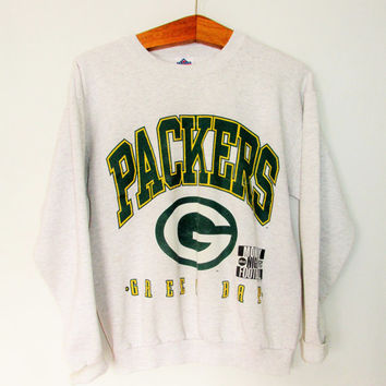 Vintage 1990s Green Bay Packers Monday Night Football Sweatshirt