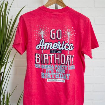 Go America It's Your Birthday | Jadelynn Brooke