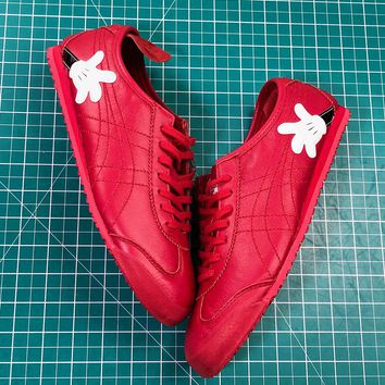 Asics Onitsuka Tiger Mexico66 Red Casual Shoes Sneakers Sale