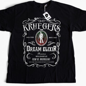 Freddy Krueger Shirt | A Nightmare on Elm St | Horror Movie Shirt | Halloween Shirt | Mens Tee | Horror Movie Shirt