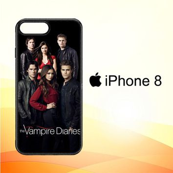 Vampire Diaries D0229 iPhone 8 Case