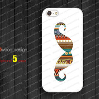 NEW iphone 5 cases iphone 5 case iphone 5 cover mustache graphic atwoodting design