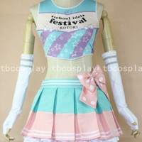 Love live! Minami kotori Dress Cosplay Costume Custom Made