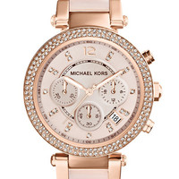 Michael Kors - Parker Rose Gold-Tone Watch