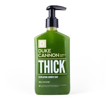Duke Cannon Thick Exfoliating Shower Gel - Victory