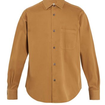 Spread-collar cotton shirt | Cobra S.C. | MATCHESFASHION.COM UK