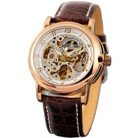 KS Automatic Mechanical Analog Waterproof Men Stainless Steel Case Classic Watch KS037