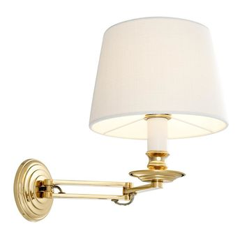 Gold Wall Lamp | Eichholtz Eclips