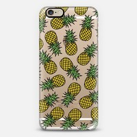PINEAPPLES iPhone 6 case by Katie Reed | Casetify