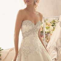 Tulle Gown by Bridal by Mori Lee