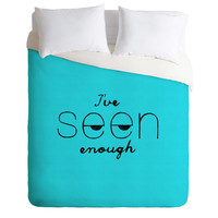 Nick Nelson Ive Seen Enough 2 Duvet Cover