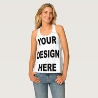 Personalized All-Over Print Racerback Tank Top