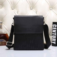 Hermes Men Office Bag Leather Satchel Shoulder Bag Crossbody G-MYJSY-BB
