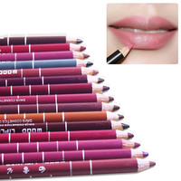 1pcs Waterproof Professional Lip Liner Pencil Long Lasting Lip Liner Pen makeup Lipstick cosmetic Tool maquiagem