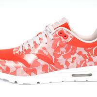 Nike Women's Air Max 1 Ultra SP Crimson Red/White Running Shoes 789564 661