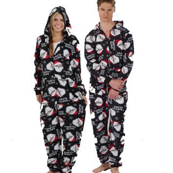 Santa Claws Unisex Adult One Piece Suit