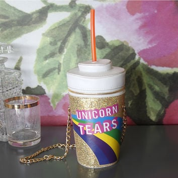 Unicorn Tears Novelty Bag