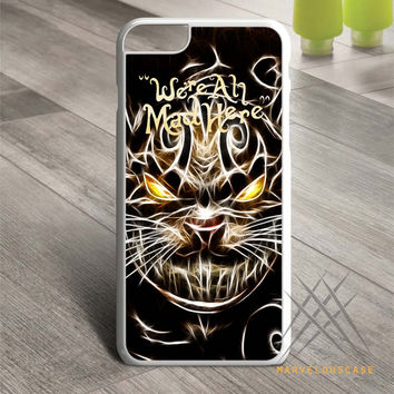 We are all mad here cheshire cat Custom case for iPhone, iPod and iPad