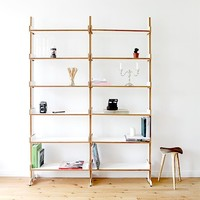 2 High Dovetail Bookcases -15%